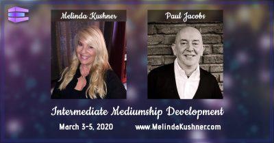 Melinda Kushner and Paul Jacobs Mediumship Development class/course/workshop